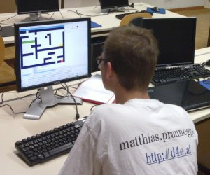 Matthias Praunegger und das PythonGameBook