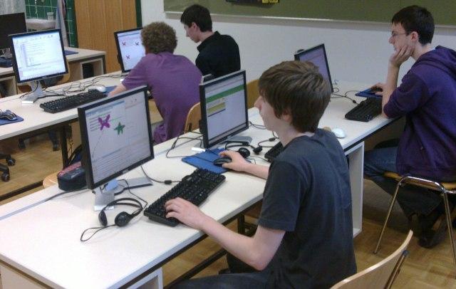 Das PythonGameBook im Einsatz (BG Weiz)