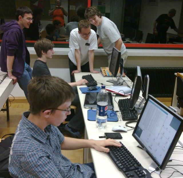 Workshop im BG Weiz ging gegen Mitternacht zu Ende.